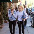 Heather Locklear se promène à Beverly Hills avec sa fille Ava Sambora, le 6 janvier 2014.