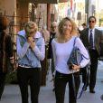 Heather Locklear et sa fille Ava Sambora dans les rues de Beverly Hills, le 6 janvier 2014.