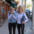Heather Locklear se promène avec sa fille Ava dans les rues de Beverly Hills, le 6 janvier 2014.