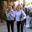 Heather Locklear et sa fille Ava Sambora dans les rues Los Angeles, le 6 janvier 2014.