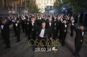 Oscars 2014 : Ellen DeGeneres, lumineuse et à la cool sur l'affiche officielle