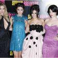 Ashley Benson, Selena Gomez, Vanessa Hudgens et Rachel Korine à Paris le 18 février 2013.