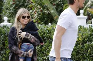 Fergie et Josh Duhamel, fiers parents: Ils ne lâchent pas leur adorable Axl Jack