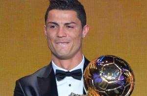 Ballon d'or 2013 : Cristiano Ronaldo en larmes sous les yeux de son fils