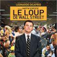Affiche du film Le Loup de Wall Street.