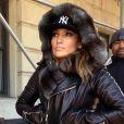 La chanteuse Jennifer Lopez dans les rues de New York, le 13 janvier 2014.