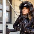 Jennifer Lopez bien emmitouflée dans les rues de New York, le 13 janvier 2014.