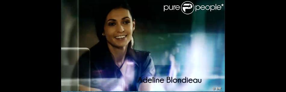 Adeline Blondieau dans Sous le soleil de Saint-Tropez sur TMC.