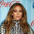 """Jennifer Lopez lors de la première d'""""American Idol"""", à Los Angeles, le 14 janvier 2014."""
