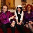 Exclu : Pascale et Morgan Ackermann et la petite soeur Capucine pendant le tournage de la première émission Le Dîner Ackermann pour la Chaîne Etudiante qui a été diffusée à la rentrée 2013.