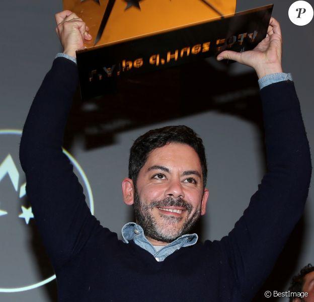 Manu Payet pour le film Situation Amoureuse: C'est Compliqué !, lauréat du Grand Prix au 17e Festival International du Film de Comédie de l'Alpe d'Huez le 18 Janvier 2014.