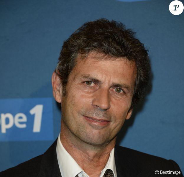 Frédéric Taddeï - Conférence de presse de rentrée d'Europe 1 à l'Espace de la Mutualité à Paris. Le 4 septembre 2013.
