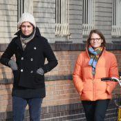 Jodie Foster et Alexandra Hedison : Balade romantique dans le froid new-yorkais