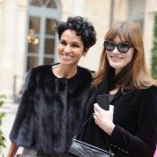 Carla Bruni-Sarkozy et Farida Khelfa sublimes pour le retour de Schiaparelli