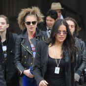 Michelle Rodriguez à Paris pour voir Cara Delevingne : Le début d'une idylle ?