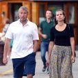 Roman Abramovitch et sa compagnoe Dasha Zhukova en vacances à Portofino. Le 2 septembre 2013.