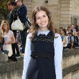 Dasha Zhukova lors du défilé prêt-à-porter Christian Dior à Paris. Septembre 2012.