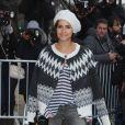 Miroslava Duma lors du défilé Chanel haute couture à Paris. Le 21 janvier 2014.