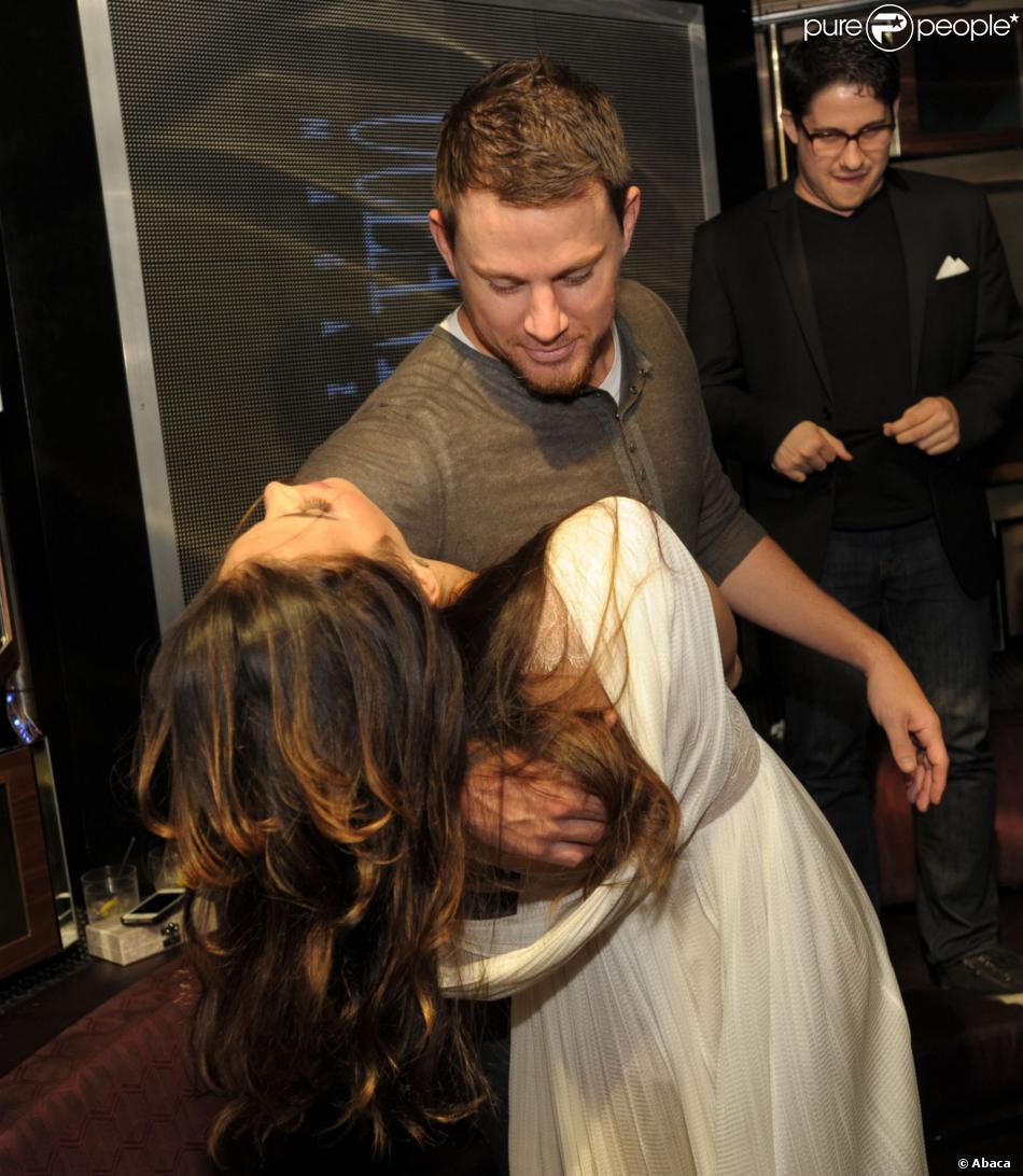 Jenna Dewan Tatum et Channing Tatum lors de la soirée anniversaire des 21 ans du magazine Ocean Drive à Miami, le 21 janvier 2014.
