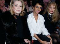 Catherine Deneuve et Amanda Lear fans de Dita von Teese chez Gaultier