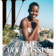 Lupita Nyong'o en couverture de W - janvier 2014