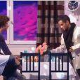 Baptiste Lecaplain et Malik Bentalha dans Vendredi tout est permis, le vendredi 24 janvier sur TF1.