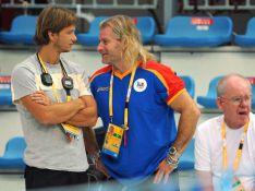 PHOTOS : Quand l'ex- et le nouvel entraîneur de Laure Manaudou s'expliquent...
