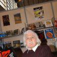 François Cavanna, lors du Salon du Livre à la Porte de Versailles, le 17 mars 2006
