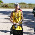 Justin Bieber fait du Segway à Miami, le 22 janvier 2014.