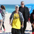 Justin Bieber à Miami, le 22 janvier 2014.
