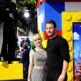 Anna Faris et Chris Pratt lors de l'avant-première de Lego Movie à Los Angeles, le 1er février 2014.