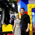 Anna Faris, Chris Pratt lors de l'avant-première de Lego Movie à Los Angeles, le 1er février 2014.