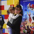 Amanda Peet lors de l'avant-première de Lego Movie à Los Angeles, le 1er février 2014.