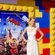 Brie Larson lors de l'avant-première de Lego Movie à Los Angeles, le 1er février 2014.