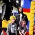 Travis Barker lors de l'avant-première de Lego Movie à Los Angeles, le 1er février 2014.