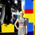 Anna Faris lors de l'avant-première de Lego Movie à Los Angeles, le 1er février 2014.