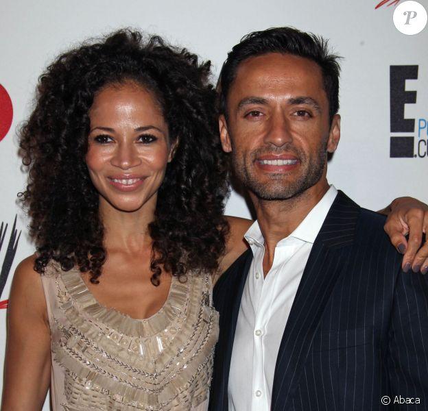 Sherri Saum et son compagnon Kamar de los Reyes à Beverly Hills, le 15 août 2013.