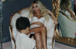 Beyoncé : Sexy maman pour sa fille Blue Ivy, photographe d'un jour
