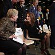 """La princesse Mary de Danemark a inauguré l'exposition Van Gogh """"Drame en Arles"""" au musée Ordrupgaard à Charlottenlund, le 6 février 2014"""