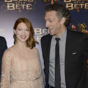 Léa Seydoux: Elégante pour 'La Belle et la Bête' avec Vincent Cassel et son père