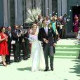 Mariage de la princesse Carolina de Bourbon-Parme et d'Albert Brenninkmeijer, le 12 juin 2012 à Florence.