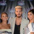 """M Pokora (Matt) lors de la 18ème cérémonie des """"NRJ Music Awards"""" au Palais des Festivals à Cannes, le 12 novembre 2016. © Rachid Bellak/Bestimage  Celebrities at 18th """"NRJ Music Awards"""" ceremony held at the Palais des Festivals in Cannes, on November 12th, 2016.12/11/2016 -"""