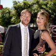 Bode Miller et Morgan Beck lors des ESPY Awards 2013 au Nokia Theatre L.A. Live de Los Angeles, le 17 juillet 2013