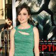 Ellen Page pose à l'avant-première du film Inception, à Los Angeles, le 13 juillet 2010.