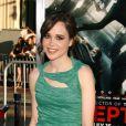 Ellen Page durant l'avant-première du film Inception, à Los Angeles, le 13 juillet 2010.