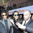Kendall Jenner arrive au défilé Topshop Unique à Londres le 16 février 2014