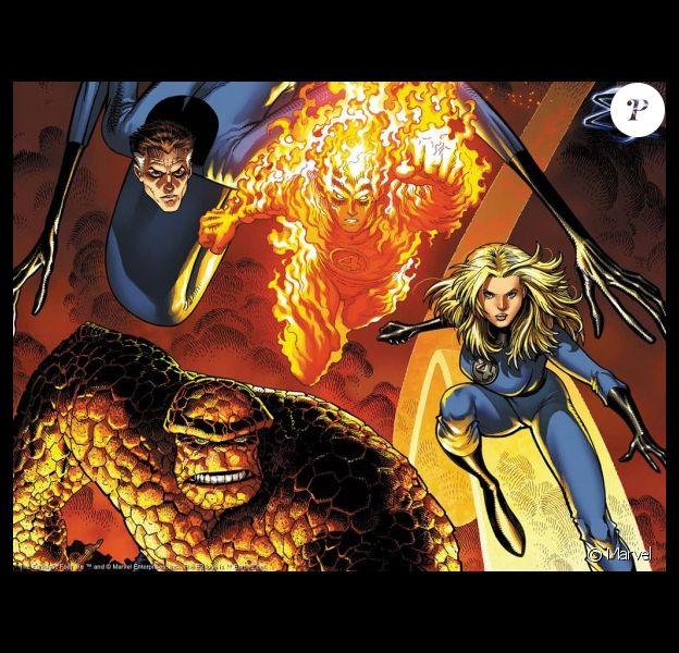 Les 4 Fantastiques des comics.
