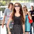 Miley Cyrus et ses proches en séance shopping...