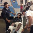 Sky Ferreira s'est blessée lors du Bangerz Tour de Miley Cyrus, qui a débuté le 14 février 2014 à Vancouver.