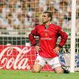 Eric Cantona lors du Charity Shield entre Manchester United et Newcastle à Manchester, le 11 août 1996